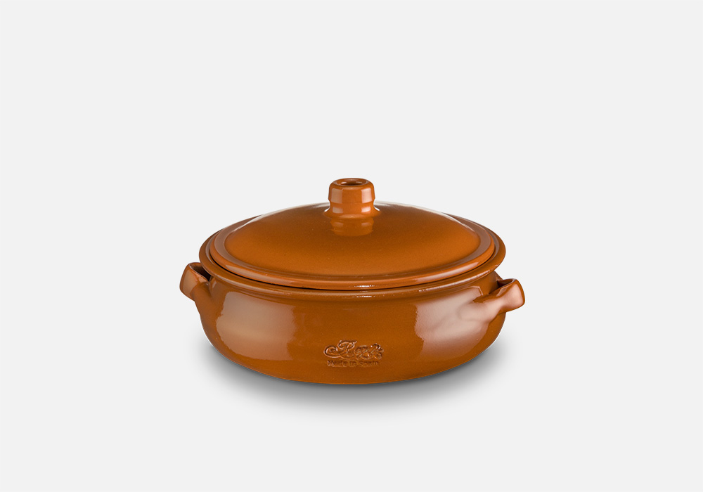 REGAS CERAMICS Round Casserole with lid Ref. 13079