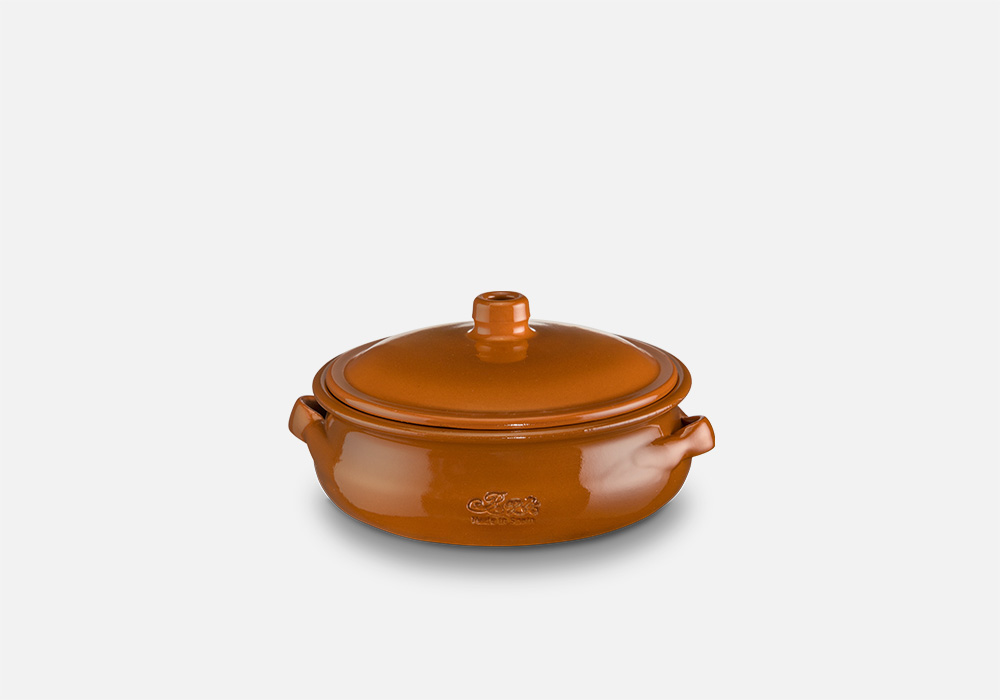 REGAS CERAMICS Round Casserole with lid Ref. 13089